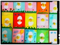 Hatching Chicken Egg Easter Card